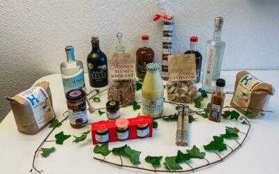 Geschenk-Idee: Feinheimisch Produkte in der Geschäftsstelle